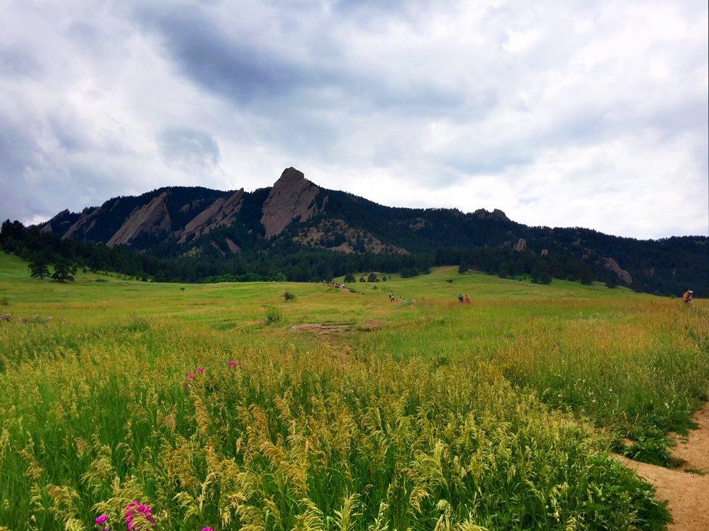Flatirons, Boulder, Colorado -