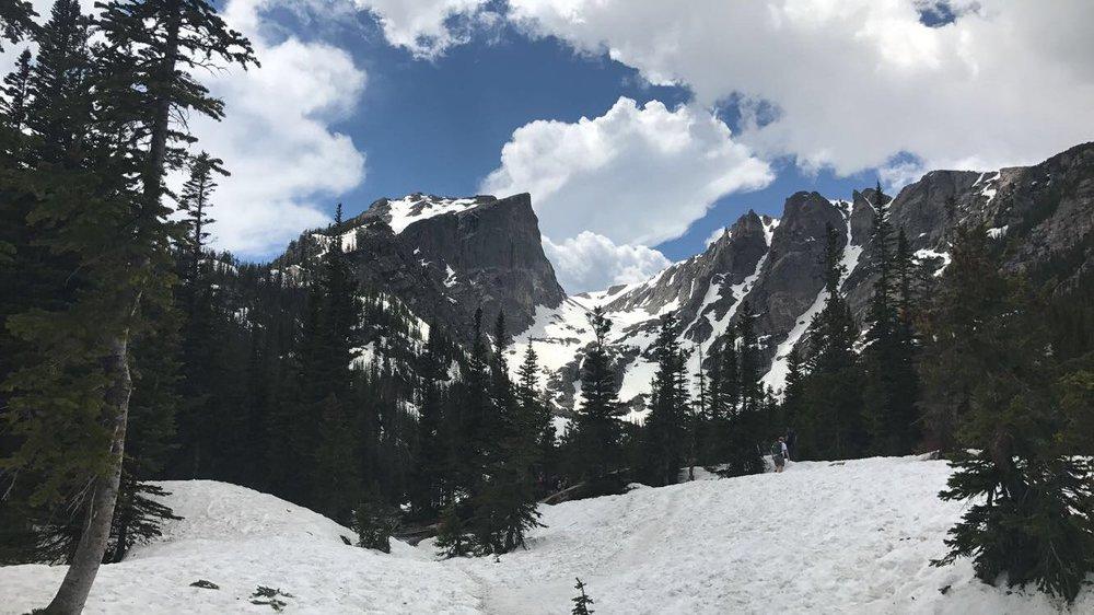 Dream Lake, Rocky Mountain National Park, Colorado -
