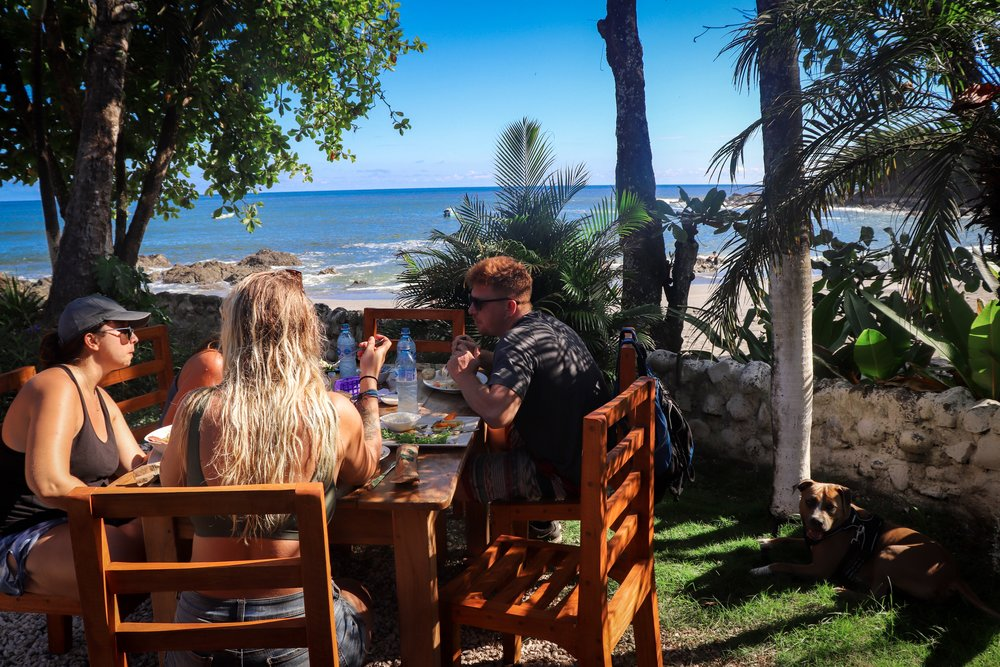 Take your ATVs to Montezuma for lunch after the waterfall. -