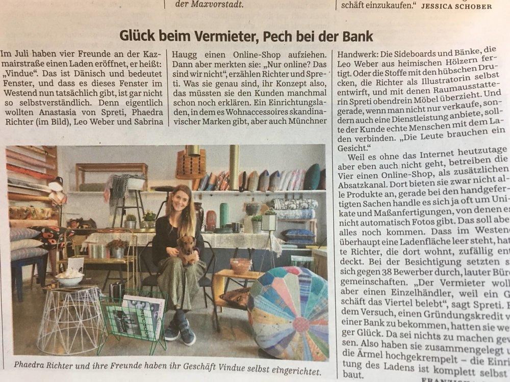 VINDUE_Phaedra Richter_Süddeutsche