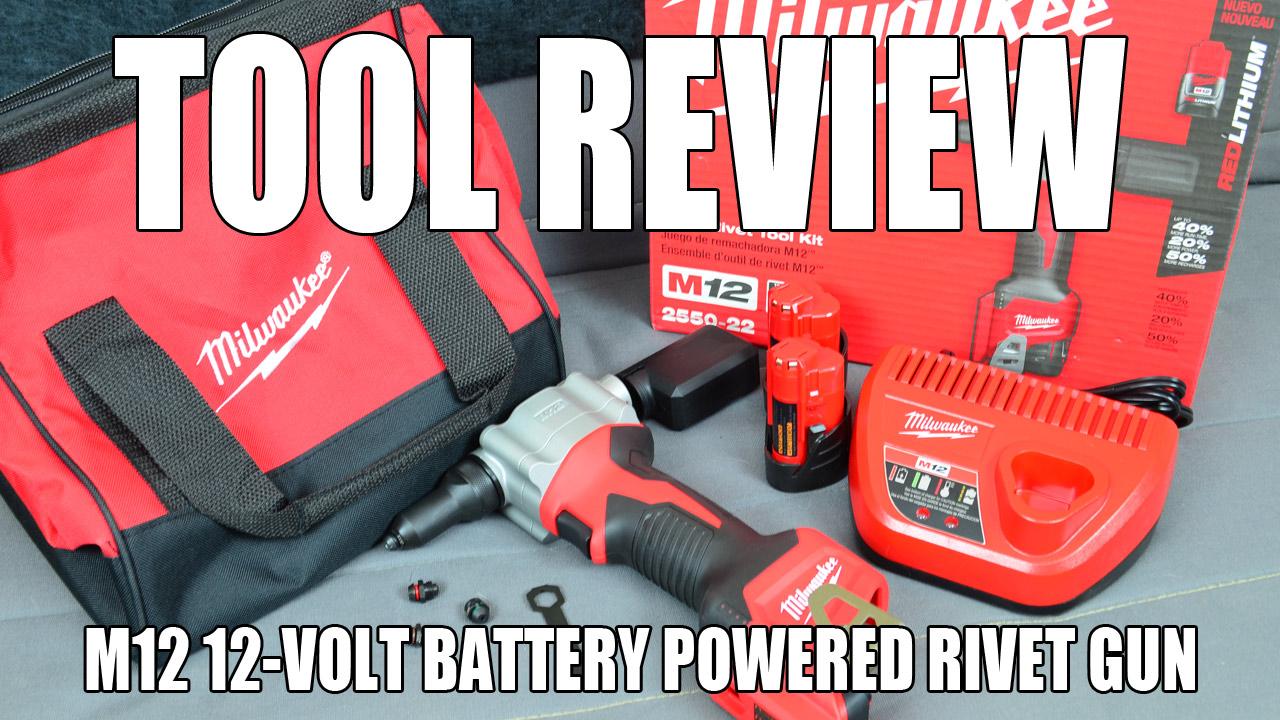 Milwaukee M12 12-volt Battery-Powered Rivet Tool Kit (Rivet