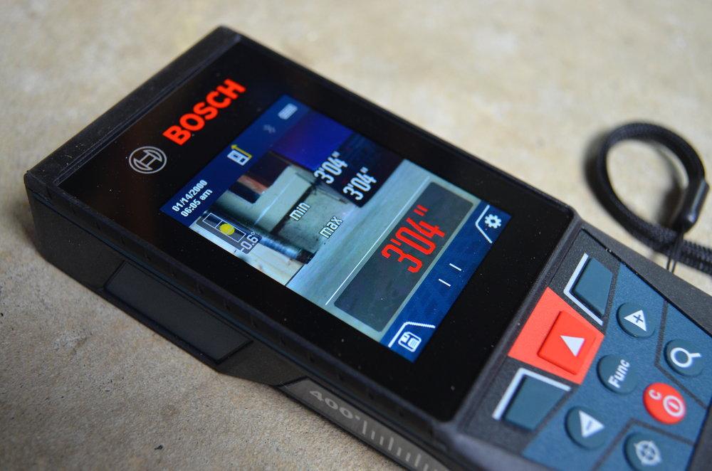 Bosch-BLAZE-400ft-Interior-Exterior-Laser-With-Bluetooth-screen