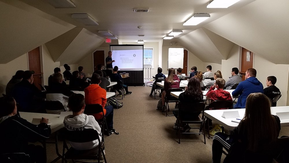32 new recruits joined the HVSRA team on the weekend of March 30/31 at the East Fishkill Community Center. Thanks to all involved, especially instructors: Rob, Brian, Michael, Dave, John, and Jason.