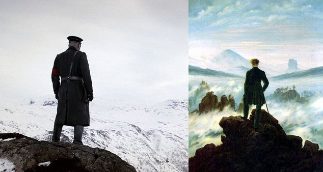 Herzog on the left, Friedrich on the right