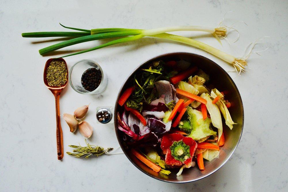 simple vegetable broth