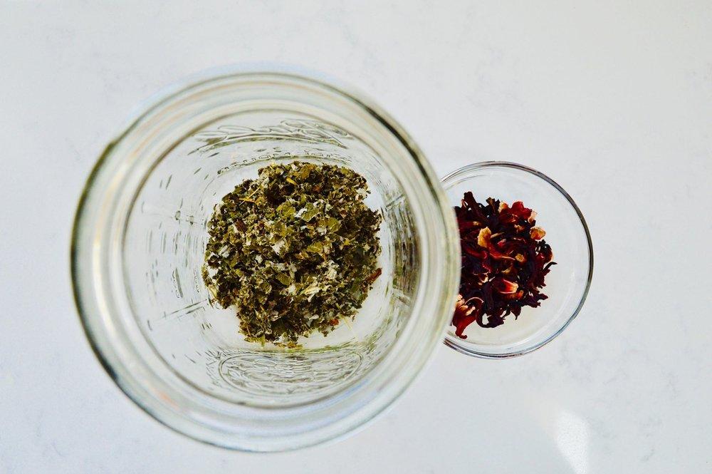 herbal tea, self care, remedy, hibiscus, red raspberry