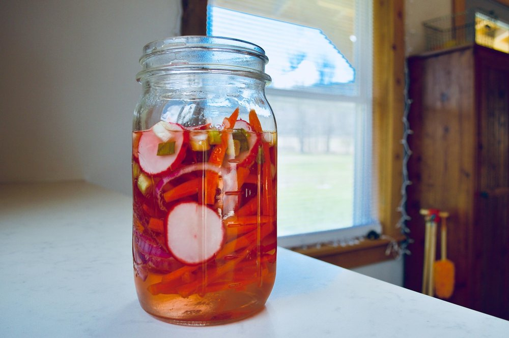 pickling, vegetables, canning, homestead