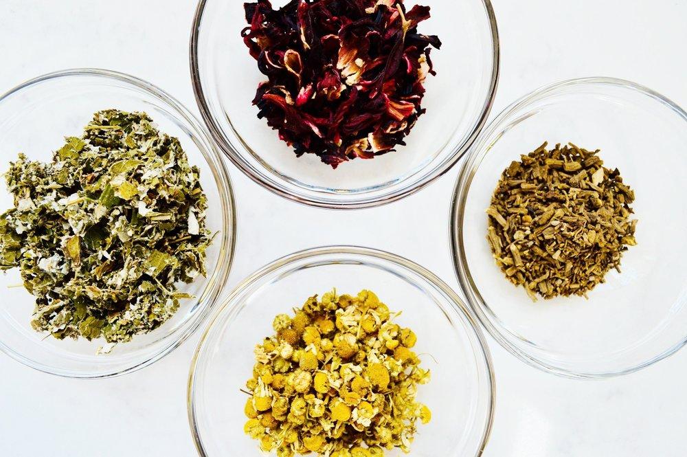 herbal tea, chamomile, hibiscus, red raspberry, mint, self care, self-care, selfcare
