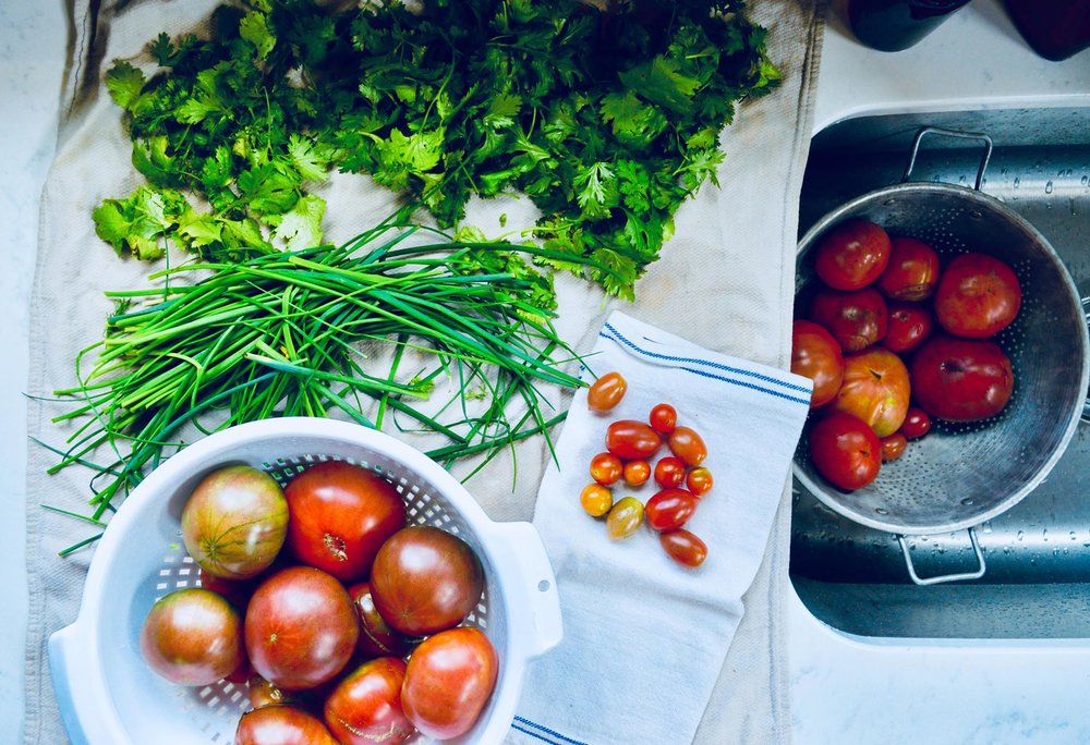 garden salsa, organic life, modern homestead, plant based diet, vegan, vegetarian, homegrown, women who farm
