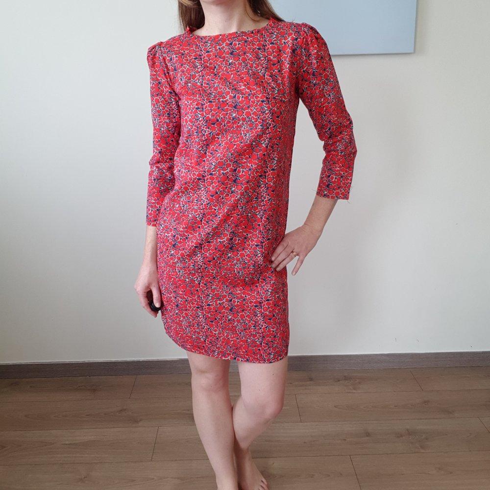 La robe Vanessa - Patron : république du chiffon