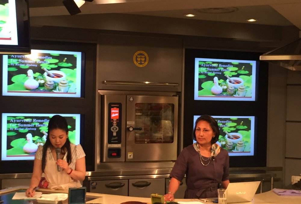 "Live-On-Air ""Ayurvedic Remedies for Summer Health"" T.V. Presentation"