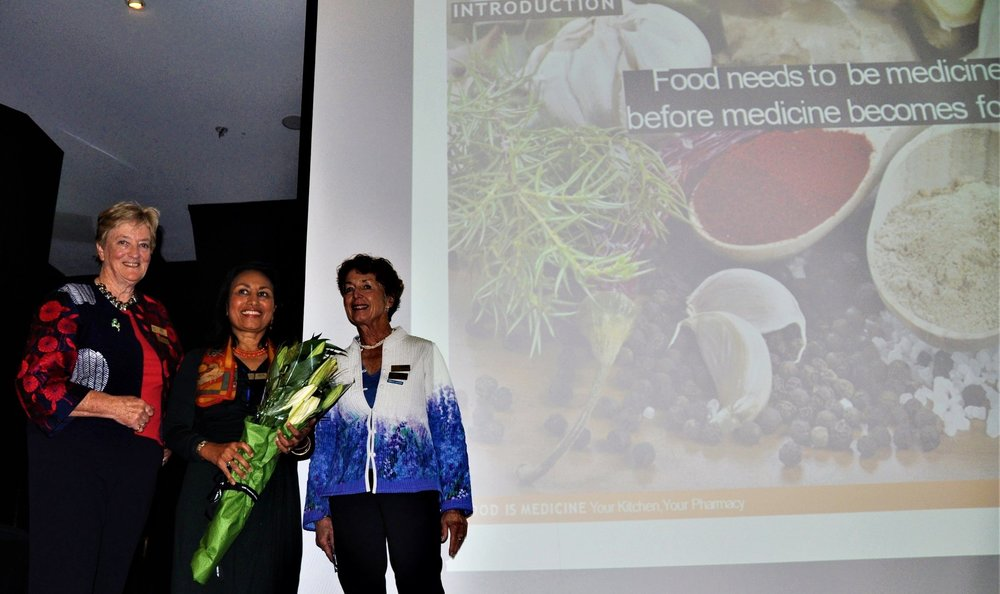 Healing with Food Presentation - Canberra, Australia