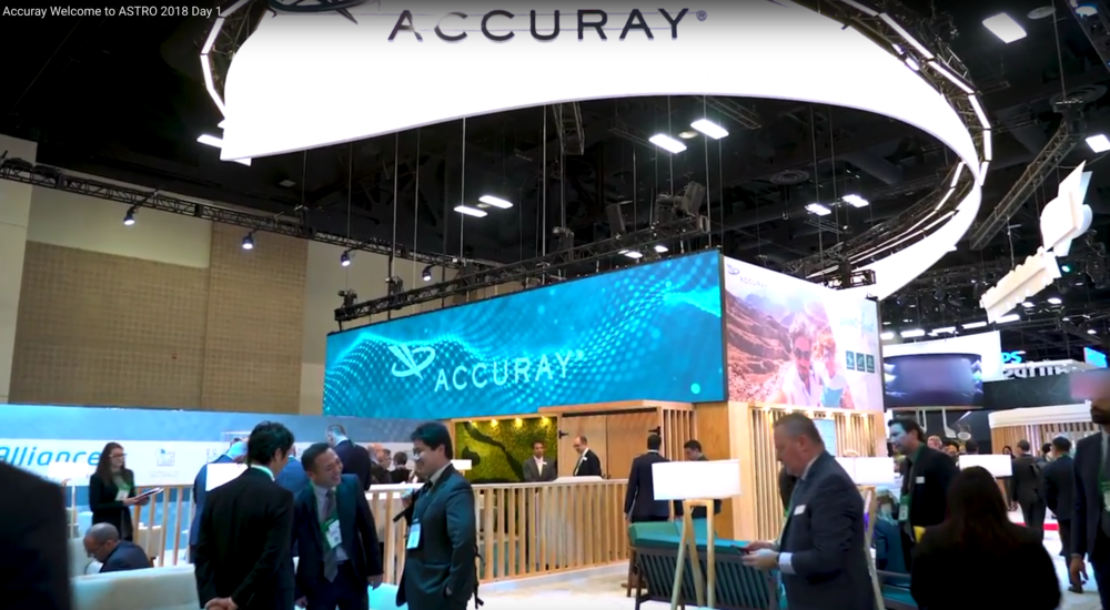 EW4D designed and built a dynamic holographic theater at the ASTRO 2018 trade show for Accuray. Utilizing multiple visual imagery and EW4D's holographic presentation, those attending were treated to a most amazing visual experience. Watch the video below for more.