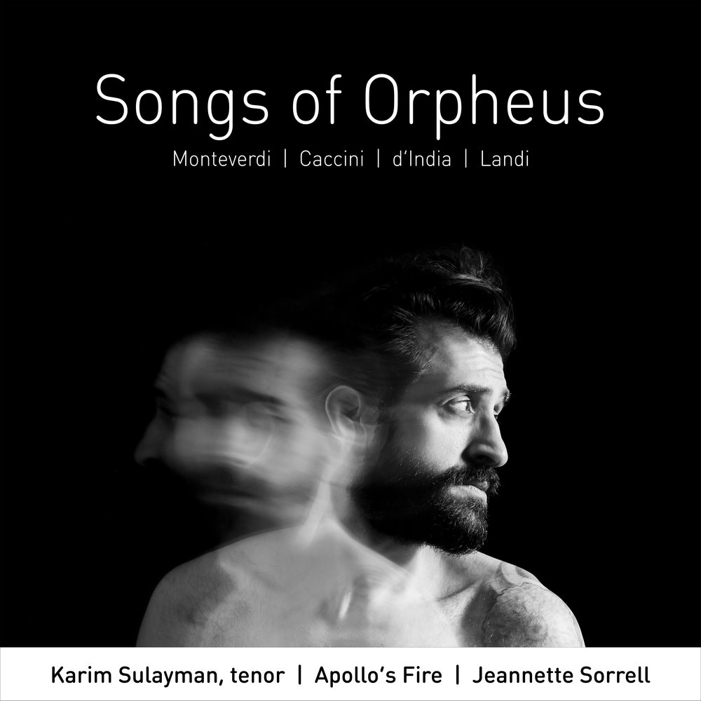 2019 GRAMMY Nominee - BEST CLASSICAL SOLO VOCAL ALBUMNamed CRITIC'S CHOICE by Opera NewsDebuted at #5 on the Billboard Traditional Classical ChartDebuted at #3 on the iTunes Classical ChartiTunes Classical A-listI Love You To Hell And Back. Lebanese-American tenor Karim Sulayman's neat encapsulation of the Orpheus myth infuses his solo recording debut,Songs of Orpheus. Orpheus, the greatest singer of all time, famously followed his deceased beloved Eurydice to the gates of Hades in an attempt to bring her back to life. He was thwarted by the gods who forbade him to gaze at her during their journey back to earth. He could not resist, and the tale has been told in numerous musical interpretations including those of Monteverdi and his 17th-century compatriots who are represented on this imaginative album, performed with leading baroque orchestra Apollo's Fire.AVIE Records