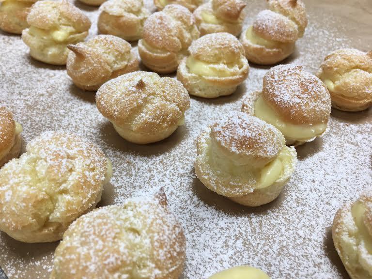 Cream Puffs (a choux)