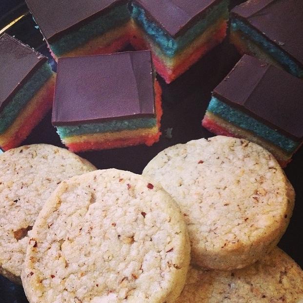 Venetian Cookies & Pecan Shortbread