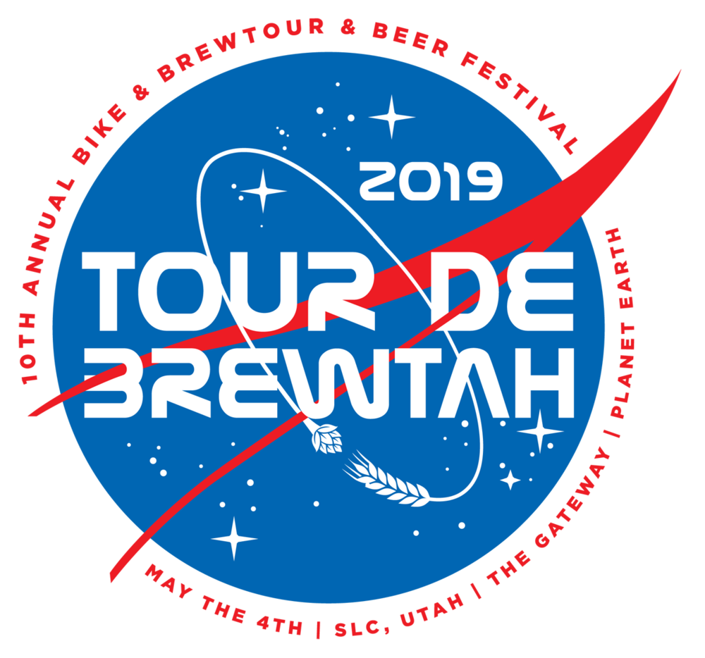 """WELCOME TO THE 10TH ANNUAL TOUR DE BREWTAH - Utah's premiere """"Bike & Brewtour"""" is proud to present our 10th annual event, where we invite riders of all abilities to join us for a """"SPACED-X"""" experience."""