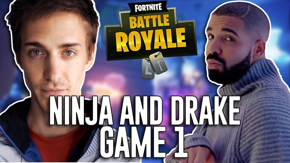Ninja + Drake +Fortnite = Crossover Heaven