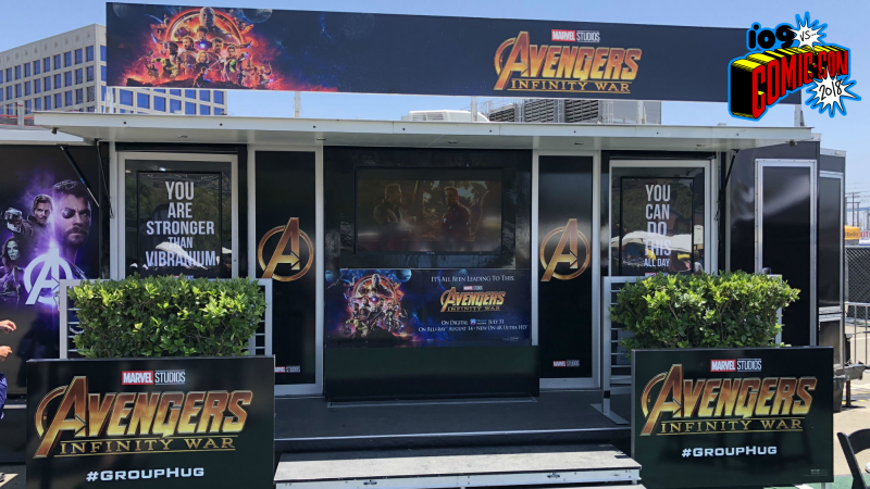 Avengers: Infinity War #GroupHug