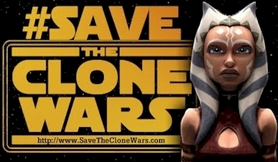 #SaveTheCloneWars fan site