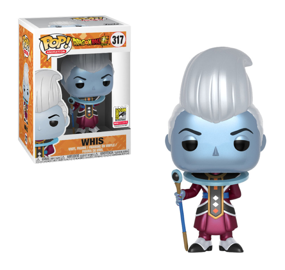 Demand for this SDCC exclusive Whis figure, brought down websites when orders began last week