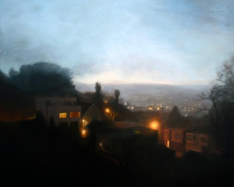 Bernal Hill Night