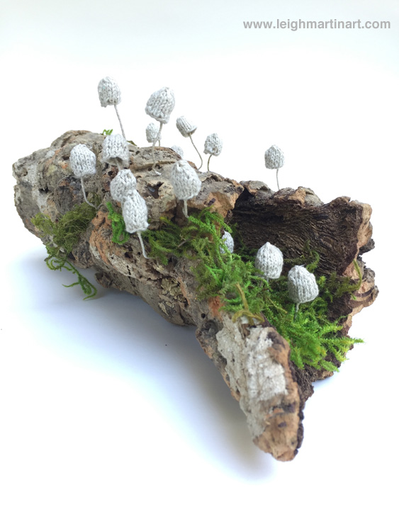 mycena sculpture