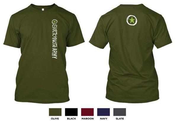 Standard T Shirt Art