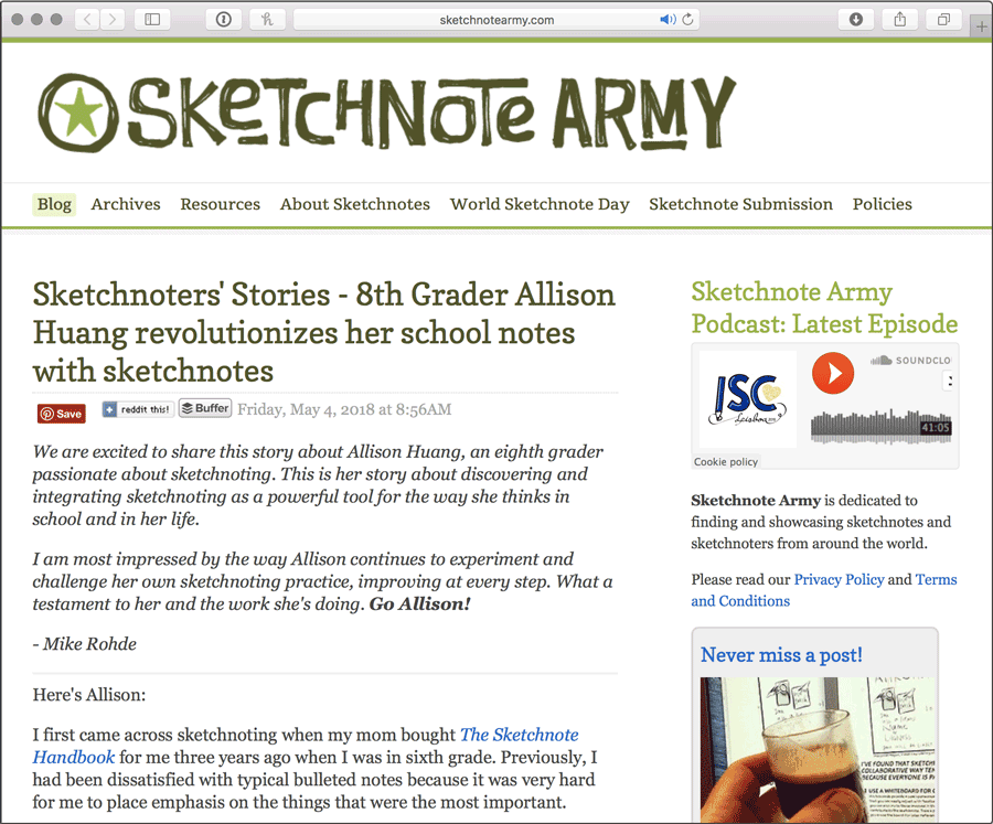 The All-New Sketchnote Army is Here!
