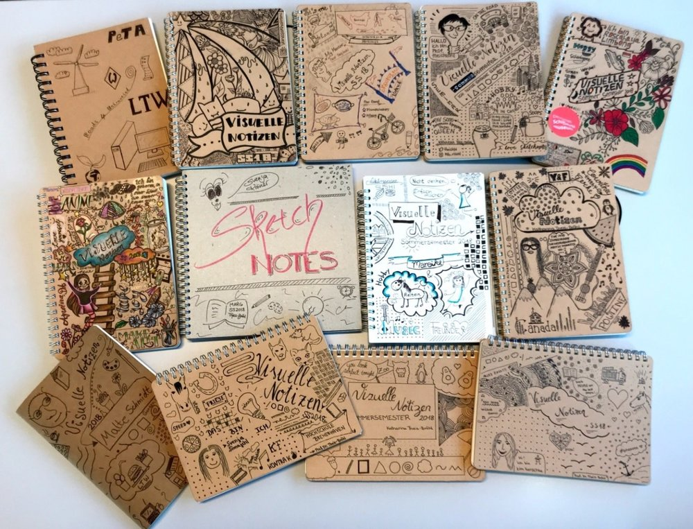 Fig. 1 Sample of cover designs of student notebook
