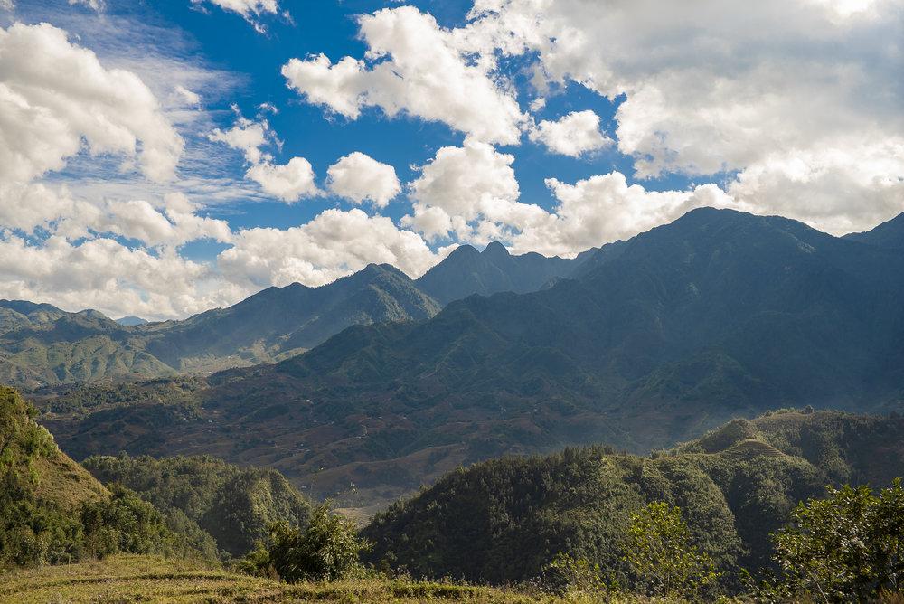 View of Y Linh Ho Village