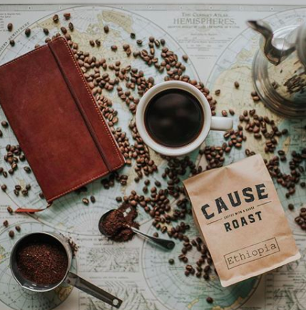 Cause Roast Coffee | North Carolina   Aiding communities globally to provide clean water.