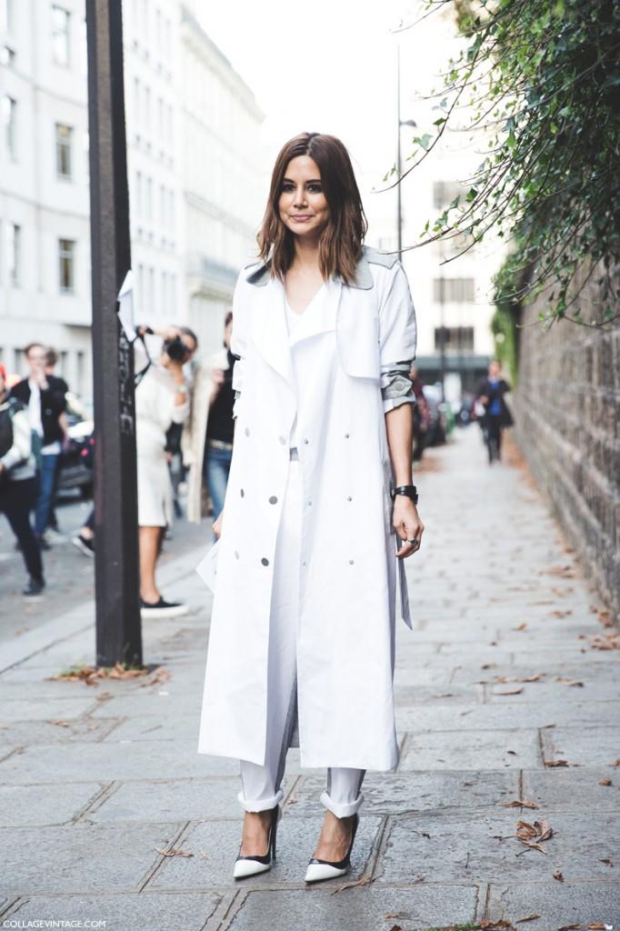 Paris_Fashion_Week_Spring_Summer_15-PFW-Street_Style-Christine_Centenera-Grey_Trench-White_Outfit-2
