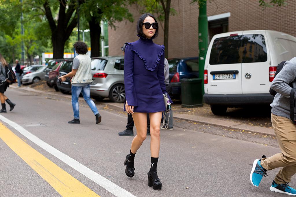Milan Fashion Week Streetstyle Fendi Stylesnooperdan
