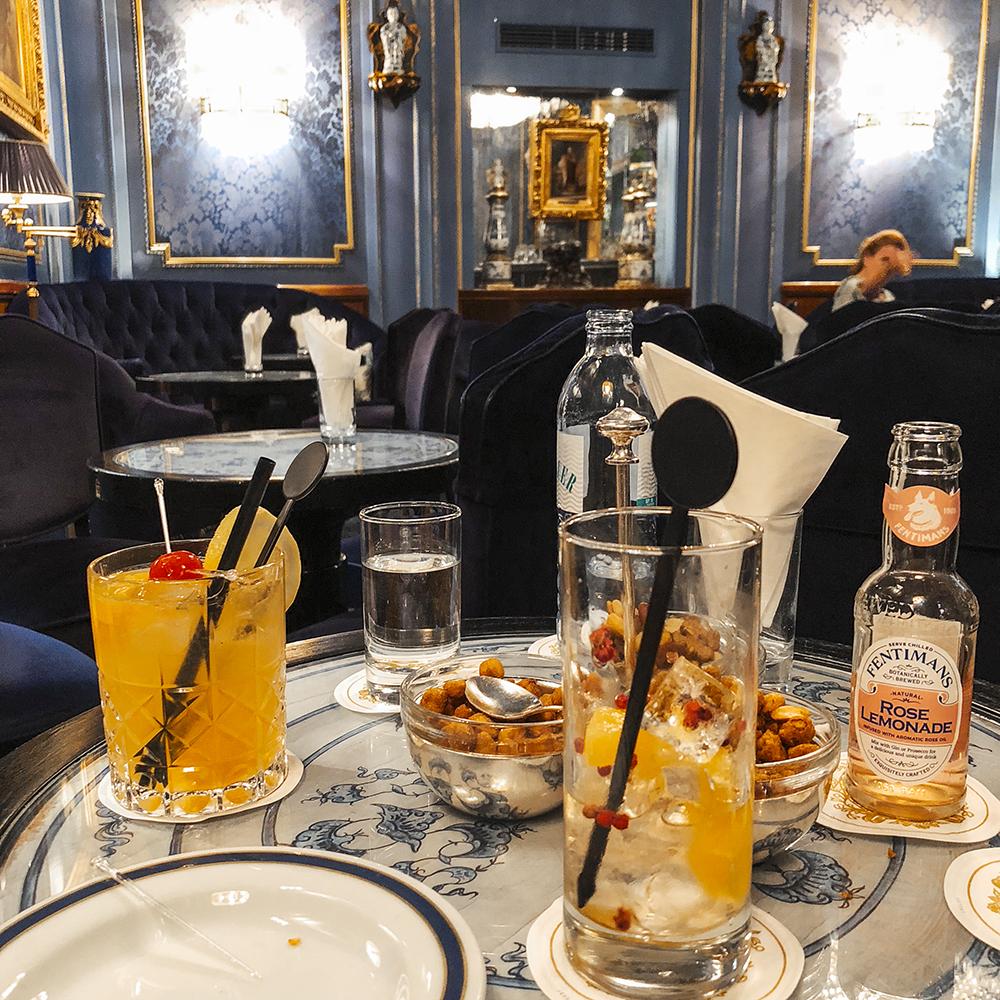 Blaue Bar, Hotel Sacher