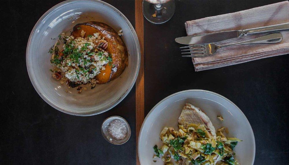 New dining at Habitat
