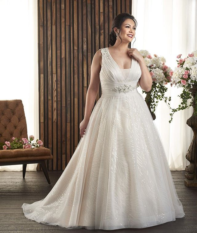 Looking for THE dress with wow factor? Here it is! 🙌 This @bonnybridal gown is a perfect combination of modern and romantic with secret sparkle throughout, intricate beadwork and an incredibly soft tulle skirt 😍 Not to mention the super flattering neckline! Available at both locations! Call us now to find your perfect gown!