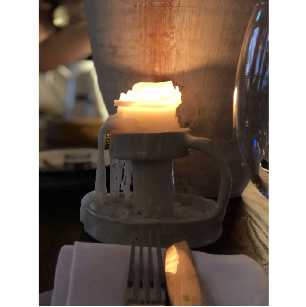 Working closely with George Livissiannis Interior Architecture firm, a selection of Candle Holders were created for Brisbane restaurant, Greca.