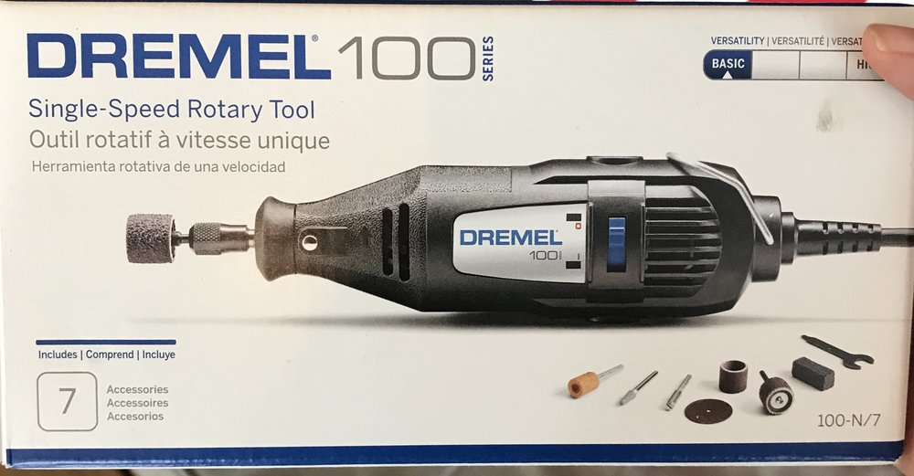 Dremel Rotary Tool - Awesome tool for cutting tiles!