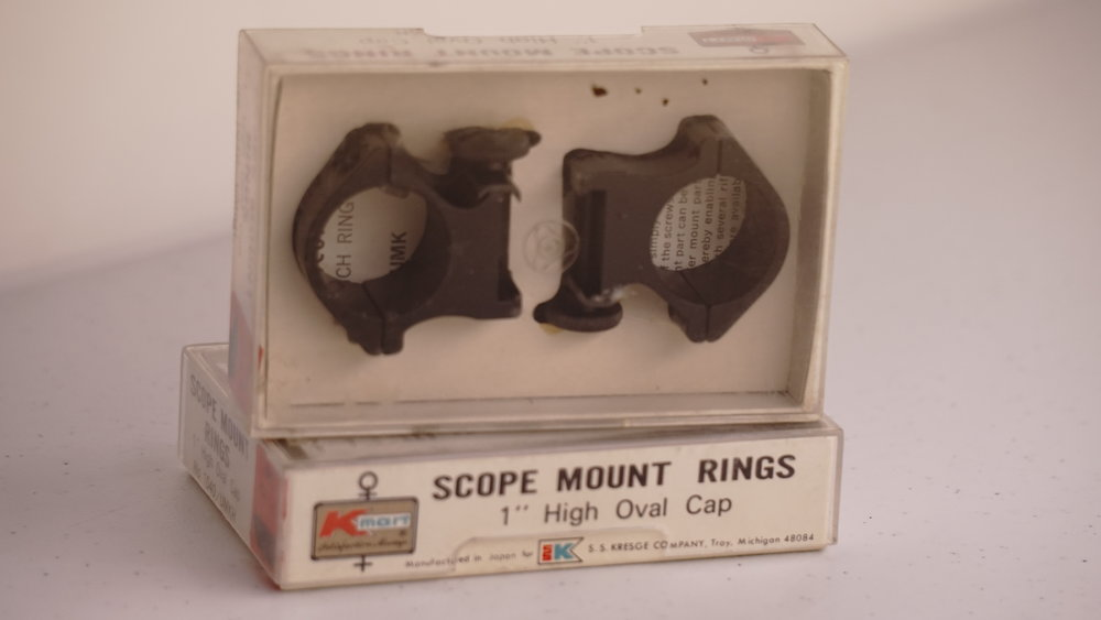 Vintage Gun Scopes — Other Mounts
