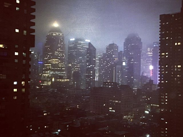 The city that never sleeps.  #ilovenewyork #roomwithaview #nyc