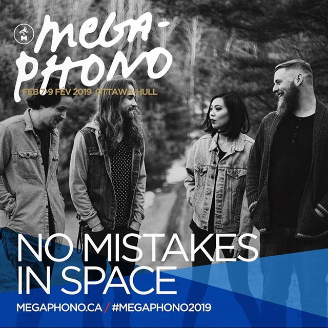 Proud to be playing @MEGAPHONO next month💫🚀 Catch us Feb 7th at @barminotaure with SATE & Teke::Teke and kick off an exciting year with us💖 Passes on sale now, link on our site or MEGAPHONO.ca #MEGAPHONO2019 #ottmusic #indie #postrock #shoegaze #nmis #livemusic