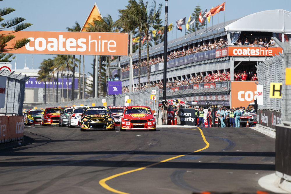 Broom broom - here we go! Coates Hire Newcastle 500