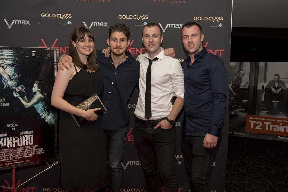 'Skinford' Premier, Event Cinemas George Street, 2017