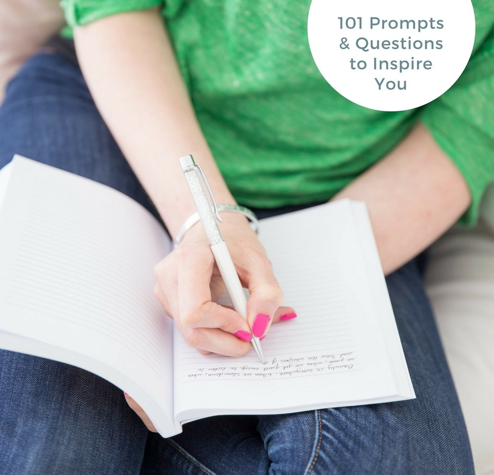 Kickstart Your Writing - Download this free guide to kickstart your writing today, complete with 101 prompts to inspire you & get your creative muscle dancing with joy.
