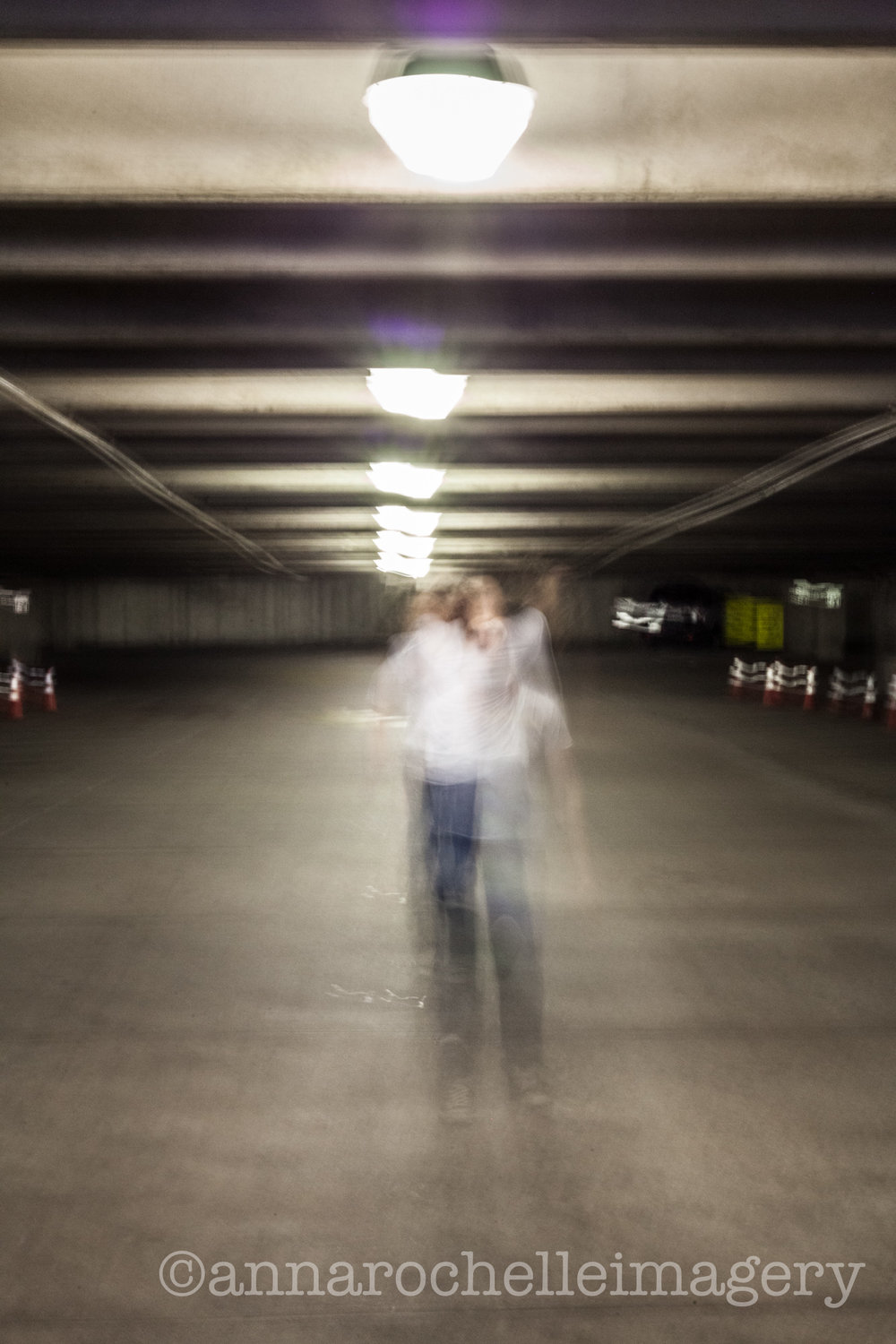 "Josh busted out his ""Bieber"" dance moves at the end of the evening. This slow shutter created a very happy, spooky accident. :)"