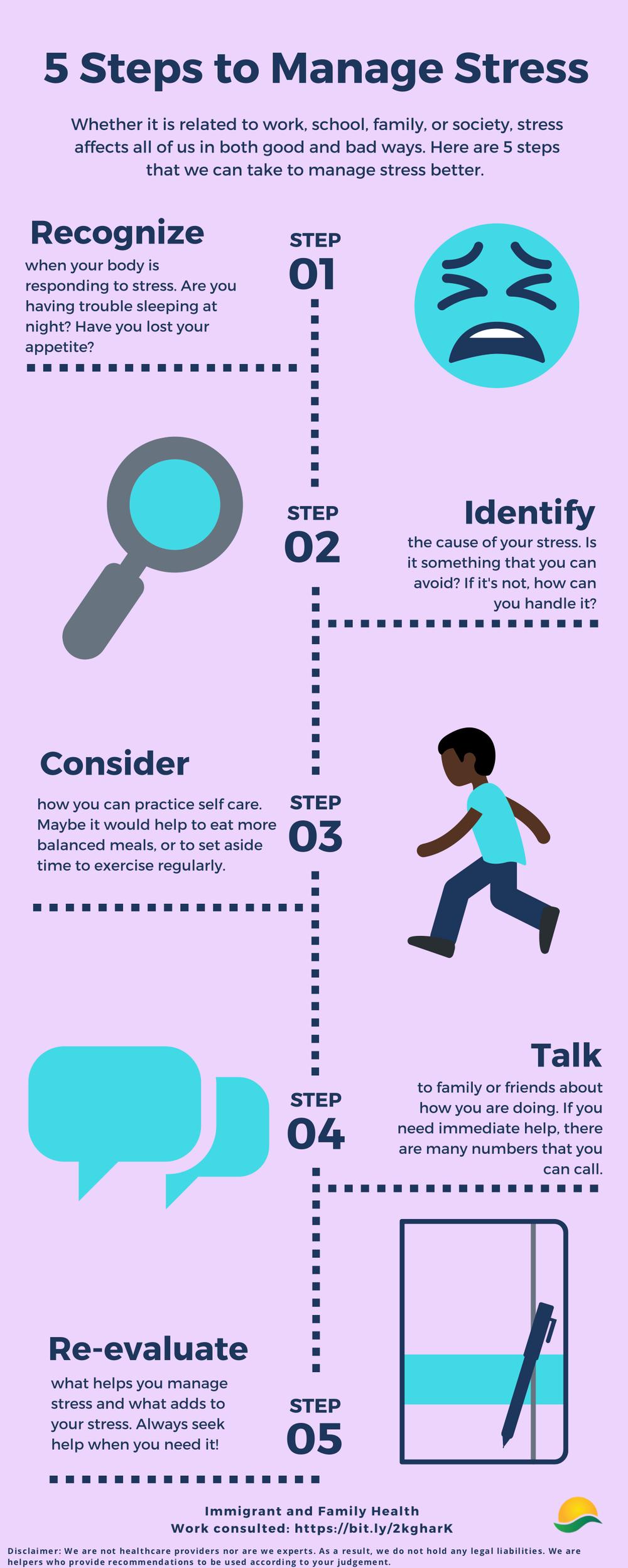 5 Steps to Manage Stress (EN)