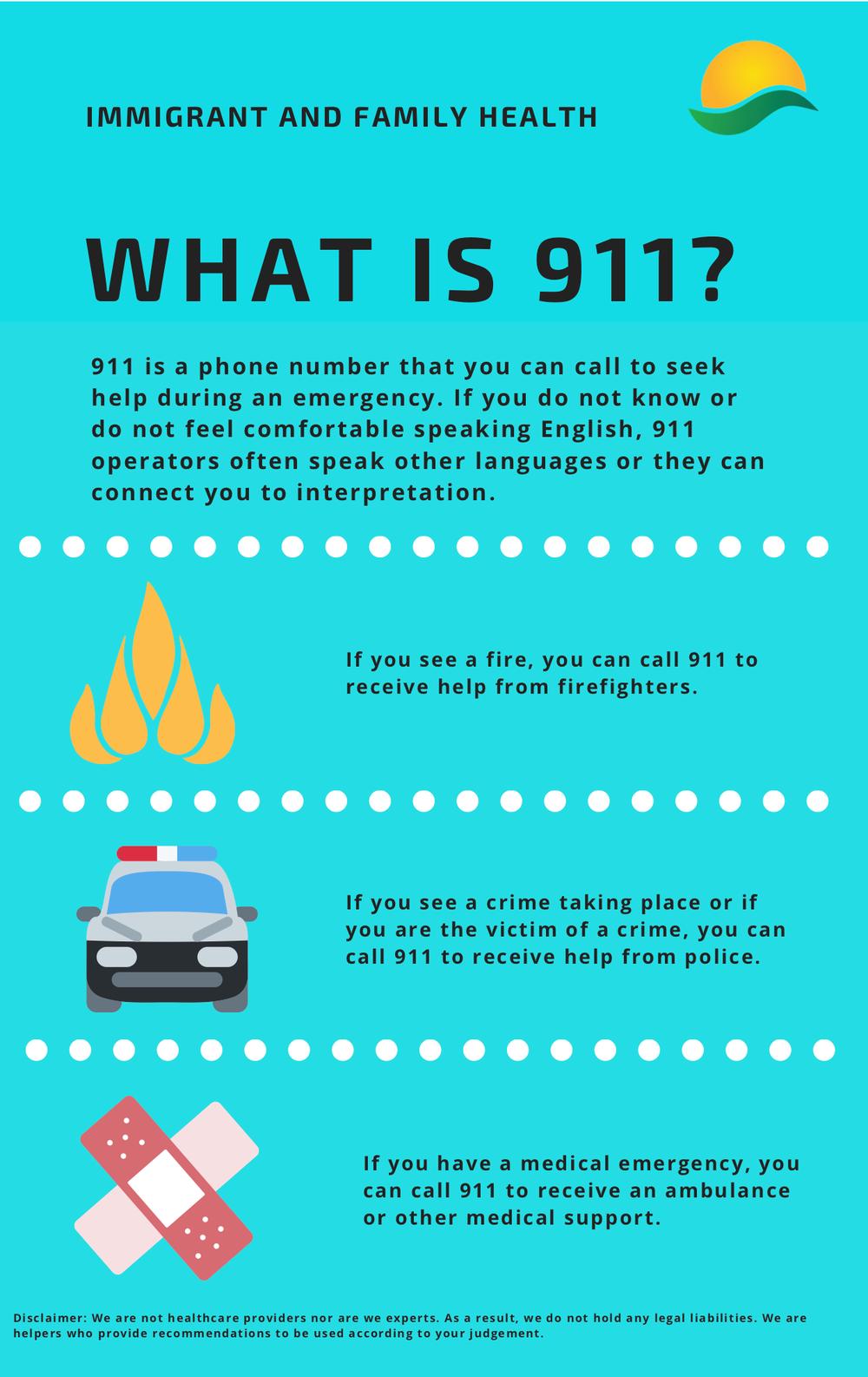 911 Emergency Infographic (EN)