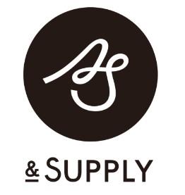 (& Supplyのロゴは、友人の Kizashi(吉田萌) に作ってもらいました。自分では硬めかキレイ目のタイポグラフィデザインしか出来ないのであえてお願いし、型にとらわれない姿勢を表現してもらいました。)