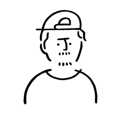 イラストレーター、アーティスト。人物の特徴を捉えたシンプルな線画が持ち味。プライベートワークとして毎日1点作品を制作する他、広告、書籍、アパレルブランドとのコラボレーションなど幅広く活動中。